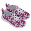 PUZZLE1 WHITE MARBLE & PINK DENIM Running Shoes View3