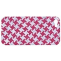 HOUNDSTOOTH2 WHITE MARBLE & PINK DENIM Apple iPhone 5 Hardshell Case View1