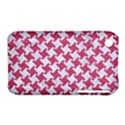 HOUNDSTOOTH2 WHITE MARBLE & PINK DENIM iPhone 3S/3GS View1