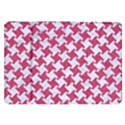 HOUNDSTOOTH2 WHITE MARBLE & PINK DENIM Samsung Galaxy Tab 8.9  P7300 Flip Case View1