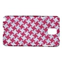 HOUNDSTOOTH2 WHITE MARBLE & PINK DENIM Samsung Galaxy Note 3 N9005 Hardshell Case View1