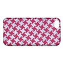 HOUNDSTOOTH2 WHITE MARBLE & PINK DENIM Apple iPhone 5C Hardshell Case View1