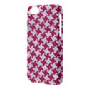 HOUNDSTOOTH2 WHITE MARBLE & PINK DENIM Apple iPhone 5C Hardshell Case View3
