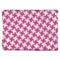 HOUNDSTOOTH2 WHITE MARBLE & PINK DENIM iPad Air Hardshell Cases View1