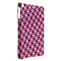 HOUNDSTOOTH2 WHITE MARBLE & PINK DENIM iPad Air Hardshell Cases View2