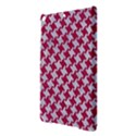 HOUNDSTOOTH2 WHITE MARBLE & PINK DENIM iPad Air Hardshell Cases View3