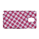 HOUNDSTOOTH2 WHITE MARBLE & PINK DENIM Samsung Galaxy Note 4 Hardshell Case View1