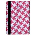 HOUNDSTOOTH2 WHITE MARBLE & PINK DENIM iPad Air 2 Flip View4
