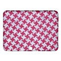 HOUNDSTOOTH2 WHITE MARBLE & PINK DENIM Samsung Galaxy Tab 4 (10.1 ) Hardshell Case  View1