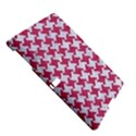 HOUNDSTOOTH2 WHITE MARBLE & PINK DENIM Samsung Galaxy Tab S (10.5 ) Hardshell Case  View5