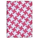 HOUNDSTOOTH2 WHITE MARBLE & PINK DENIM Apple iPad Pro 12.9   Flip Case View1