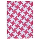 HOUNDSTOOTH2 WHITE MARBLE & PINK DENIM Apple iPad Pro 9.7   Flip Case View1