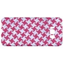 HOUNDSTOOTH2 WHITE MARBLE & PINK DENIM Samsung Galaxy S8 Plus Hardshell Case  View1
