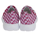 HOUNDSTOOTH2 WHITE MARBLE & PINK DENIM Velcro Strap Shoes View4