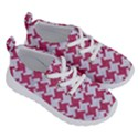 HOUNDSTOOTH2 WHITE MARBLE & PINK DENIM Running Shoes View3