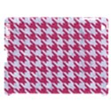HOUNDSTOOTH1 WHITE MARBLE & PINK DENIM Apple iPad 3/4 Hardshell Case (Compatible with Smart Cover) View1