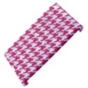 HOUNDSTOOTH1 WHITE MARBLE & PINK DENIM Apple iPad 3/4 Hardshell Case (Compatible with Smart Cover) View4