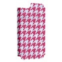 HOUNDSTOOTH1 WHITE MARBLE & PINK DENIM Apple iPhone 5 Hardshell Case (PC+Silicone) View2
