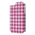 HOUNDSTOOTH1 WHITE MARBLE & PINK DENIM Apple iPhone 5 Hardshell Case (PC+Silicone) View3