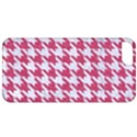 HOUNDSTOOTH1 WHITE MARBLE & PINK DENIM Apple iPhone 5 Classic Hardshell Case View1