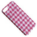 HOUNDSTOOTH1 WHITE MARBLE & PINK DENIM Apple iPhone 5 Classic Hardshell Case View5