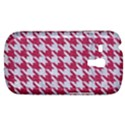 HOUNDSTOOTH1 WHITE MARBLE & PINK DENIM Galaxy S3 Mini View1