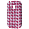 HOUNDSTOOTH1 WHITE MARBLE & PINK DENIM Galaxy S3 Mini View3