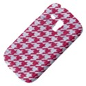 HOUNDSTOOTH1 WHITE MARBLE & PINK DENIM Galaxy S3 Mini View4