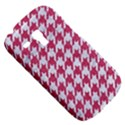 HOUNDSTOOTH1 WHITE MARBLE & PINK DENIM Galaxy S3 Mini View5