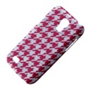 HOUNDSTOOTH1 WHITE MARBLE & PINK DENIM Galaxy S4 Mini View4