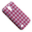 HOUNDSTOOTH1 WHITE MARBLE & PINK DENIM Galaxy S4 Mini View5