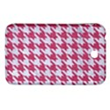 HOUNDSTOOTH1 WHITE MARBLE & PINK DENIM Samsung Galaxy Tab 3 (7 ) P3200 Hardshell Case  View1