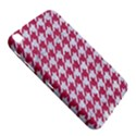 HOUNDSTOOTH1 WHITE MARBLE & PINK DENIM Samsung Galaxy Tab 3 (8 ) T3100 Hardshell Case  View5