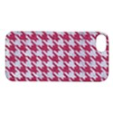 HOUNDSTOOTH1 WHITE MARBLE & PINK DENIM Apple iPhone 5S/ SE Hardshell Case View1