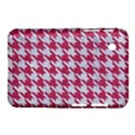 HOUNDSTOOTH1 WHITE MARBLE & PINK DENIM Samsung Galaxy Tab 2 (7 ) P3100 Hardshell Case  View1