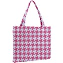 HOUNDSTOOTH1 WHITE MARBLE & PINK DENIM Mini Tote Bag View2
