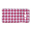 HOUNDSTOOTH1 WHITE MARBLE & PINK DENIM Samsung Galaxy A5 Hardshell Case  View1