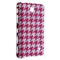 HOUNDSTOOTH1 WHITE MARBLE & PINK DENIM Samsung Galaxy Tab 4 (8 ) Hardshell Case  View3
