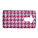 HOUNDSTOOTH1 WHITE MARBLE & PINK DENIM LG G4 Hardshell Case View1