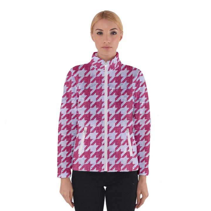 HOUNDSTOOTH1 WHITE MARBLE & PINK DENIM Winterwear