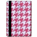 HOUNDSTOOTH1 WHITE MARBLE & PINK DENIM Apple iPad Pro 9.7   Flip Case View4
