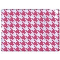 HOUNDSTOOTH1 WHITE MARBLE & PINK DENIM Apple iPad Pro 12.9   Hardshell Case View1