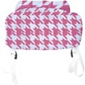 HOUNDSTOOTH1 WHITE MARBLE & PINK DENIM Full Print Backpack View4