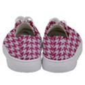 HOUNDSTOOTH1 WHITE MARBLE & PINK DENIM Kids  Low Top Canvas Sneakers View4