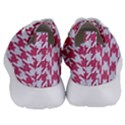 HOUNDSTOOTH1 WHITE MARBLE & PINK DENIM Women s Lightweight Sports Shoes View4