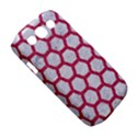 HEXAGON2 WHITE MARBLE & PINK DENIM (R) Samsung Galaxy S III Classic Hardshell Case (PC+Silicone) View5
