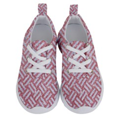 Woven2 White Marble & Pink Glitter Running Shoes
