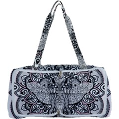 Ornate Hindu Elephant  Multi Function Bag