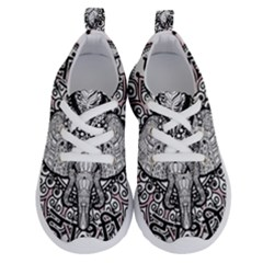 Ornate Hindu Elephant  Running Shoes