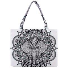 Ornate Hindu Elephant  Mini Tote Bag by Valentinaart